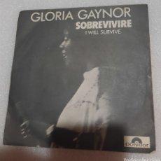 Discos de vinilo: GLORIA GAYNOR - SOBREVIVIRE. Lote 237304700