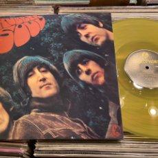 Discos de vinilo: THE BEATLES RUBBER SOUL LP DISCO DE VINILO AMARILLO. Lote 237304760
