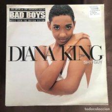 Discos de vinilo: DIANA KING - SHY GUY - 12'' MAXISINGLE WORK HOLANDA 1995. Lote 237305585