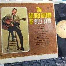 Discos de vinilo: THE GOLDEN GUITAR OF BILLY BYRD U.S.A. 1964. Lote 237305650