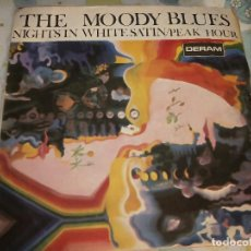Discos de vinilo: THE MOODY BLUES – NIGHTS IN WHITE SATIN. 1968 . VG+ / VG+. Lote 237305870