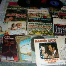 Discos de vinilo: LOTE DE 36 DISCOS DE VINILO SINGLES Y EPS. Lote 237306140