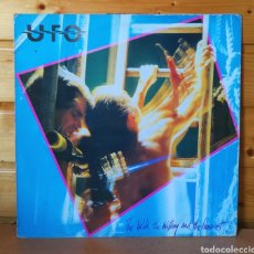 Discos de vinilo: LP ALBUM , UFO , THE WILD THE WILLING AND THE INNOCENT , IMPORT.UK 1981. Lote 237306630