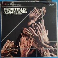 Discos de vinilo: TED HEATH AND HIS MUSIC - BIG BAND SPIRITUALS (LP, ALBUM). Lote 237298170