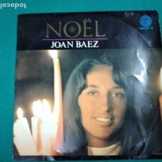 Discos de vinilo: NOËL. JOAN BAEZ.LP HISPAVOX. Lote 237308870