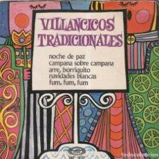 Discos de vinilo: ESCOLANIA DE SAN ANTONIO DE CUATRO CAMINOS - VILLANCICOS TRADICIONALES (EP MOVIEPLAY 1968). Lote 237325590