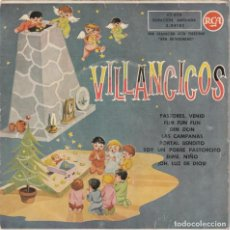 Discos de vinilo: ESCOLANIA SANTISIMO SACRAMENTO DE LOS PADRES SACRAMENTINOS - VILLANCICOS (EP RCA 1959). Lote 237325790