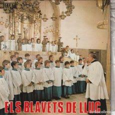 Discos de vinilo: ESCOLANIA LOS BLAUETS DE LLUC - AVE VERUN + 3 (EP MALLER 1977). Lote 237325985