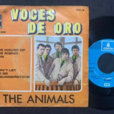 Discos de vinilo: SINGLE EP THE ANIMALS ‎– THE HOUSE OF THE RISING SUN / DON'T LET ME BE MISUNDERSTOOD EDICION ESPAÑA. Lote 237329870