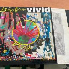 Discos de vinilo: LIVING COLOUR (VIVID) LP 1988 ESPAÑA (B-20). Lote 237334410