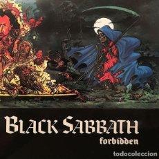 Discos de vinilo: BLACK SABBATH – FORBIDDEN -LP-. Lote 237338010
