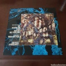 Discos de vinilo: MENDELSSOHN - EL SUEÑO DE UNA NOCHE DE VERANO - SCHUBERT ROSAMUNDA - ERNEST ANSERMET. Lote 237342355