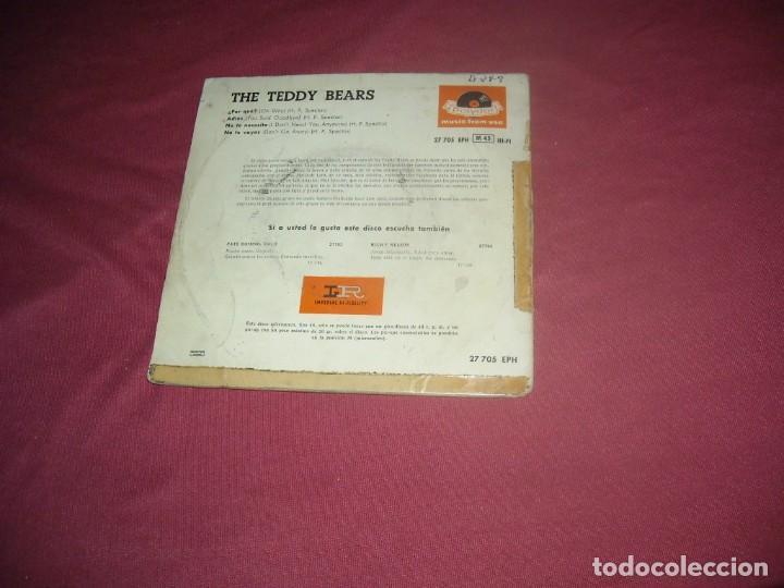 Discos de vinilo: The teddy bears ep por qué? + 3 Esp polydor ver foto 1959 phil spector - Foto 2 - 237343775