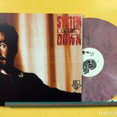Discos de vinilo: SYSTEM OF A DOWN LP ULTRA RARE VINILO COLOR MÁRMOL ROSA MUY RARO COLECCIONISTA. Lote 237356425