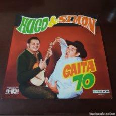 Discos de vinilo: HUGO & SIMON - GAITA 70 - HUGO BLANCO - PALACIO VENEZUELA. Lote 237357155