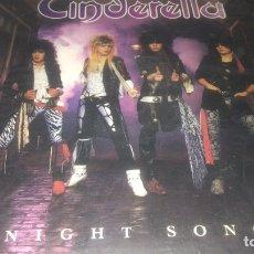 Discos de vinilo: CINDERELLA . NIGHT SONG. Lote 237359110