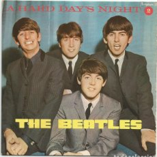Discos de vinilo: THE BEATLES, A HARD DAY'S NIGHT, EP 1968. Lote 237363505