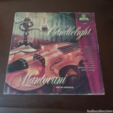 Discos de vinilo: CANDLELIGHT - MANTOVANI AND HIS ORCHESTRA. Lote 237367320