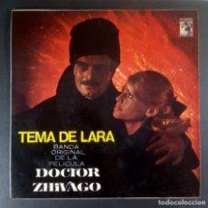 Discos de vinilo: MAURICE JARRE - DOCTOR ZHIVAGO O.S.T - EP 1966 - MGM. Lote 237373170