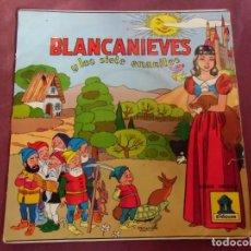 Discos de vinilo: SINGEL . BLANCANIEVES Y LOS SIETE ENANITOS. ODEON 1954. Lote 237373625