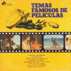 Discos de vinilo: TEMAS FAMOSOS DE PELICULAS - CHARADA GOLDFINGER, LA DOLCE VITA.../ LP NEVADA RF-9066. Lote 237376090