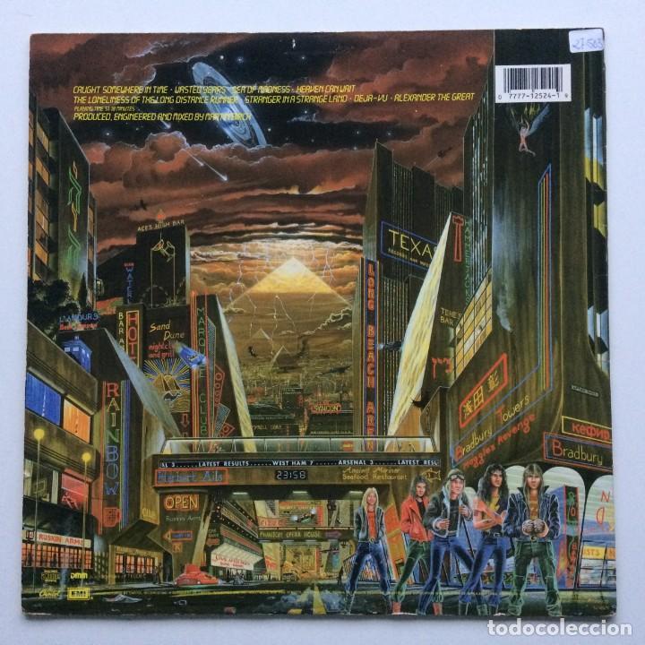 Discos de vinilo: IRON MAIDEN ( SOMEWHERE IN TIME ) USA - 1986 LP33 CAPITOL RECORDS - Foto 2 - 237010815