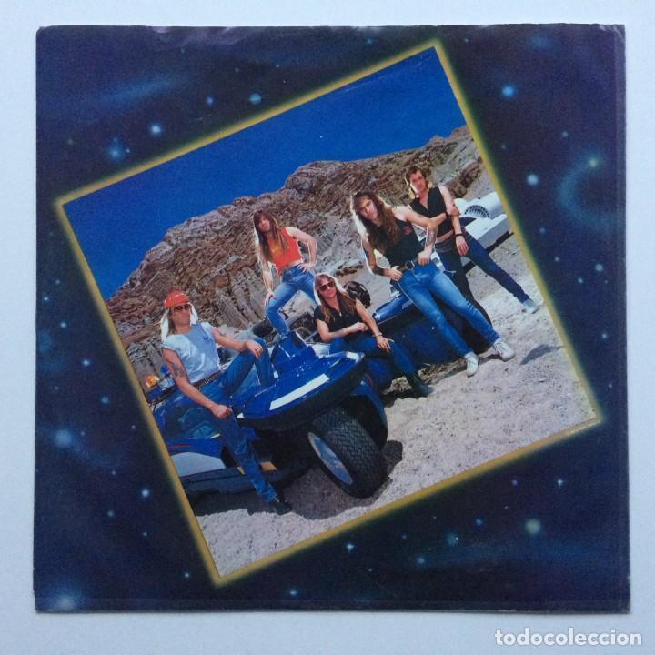 Discos de vinilo: IRON MAIDEN ( SOMEWHERE IN TIME ) USA - 1986 LP33 CAPITOL RECORDS - Foto 3 - 237010815