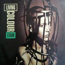 Discos de vinilo: LIVING COLOUR - STAIN - LP DE VINILO EDICION ESPAÑOLA - FUNK METAL #. Lote 237379090
