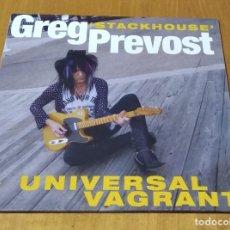 Discos de vinilo: GREG STACKHOUSE PREVOST - UNIVERSAL VAGRANT (LP 2016, MDLP003) NUEVO Y PRECINTADO. Lote 237381250