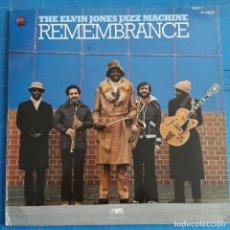 Discos de vinilo: THE ELVIN JONES JAZZ MACHINE - REMEMBRANCE (LP, ALBUM). Lote 237381750
