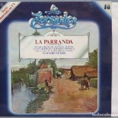 Discos de vinilo: LP. LA PARRANDA. LA ZARZUELA. Lote 237385535