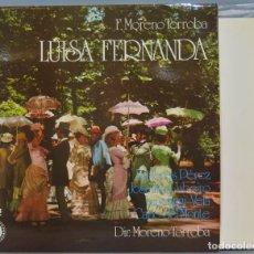 Discos de vinilo: LP. LUISA FERNANDA. TORROBA. Lote 237385895
