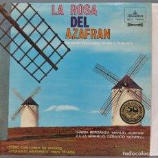 Discos de vinilo: LP. LA ROSA DEL AZAFRAN. Lote 237385990