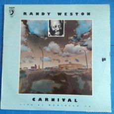 Discos de vinilo: RANDY WESTON - CARNIVAL (LIVE AT MONTREUX '74) (LP, ALBUM) (DISCOPHON). Lote 237396050