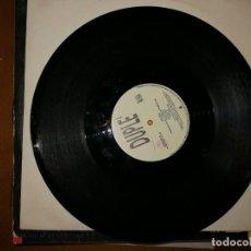 Discos de vinilo: LOTE 2 DISCOS ITALODANCE. TINA WASHINGTON-BABY, I LOVE YOUR WAY,1994 Y DUPLÉ – PAURA,1992. Lote 237400055