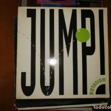 Discos de vinilo: LOTE 2 DISCOS EURO HOUSE. MOSAIC III* FEAT. ZION* – DANCE NOW,1991 Y ROTATION (5) – JUMP!,1992. Lote 237400525