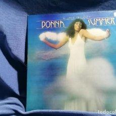 Discos de vinilo: DONNA SUMMER 'A LOVE TRILOGY' EDICION ESPAÑA 1976. Lote 237406560
