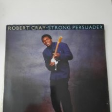 Discos de vinilo: ROBERT CRAY – STRONG PERSUADER. Lote 237404290