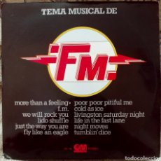 Discos de vinilo: TEMA MUSICAL DE FM. Lote 237407925