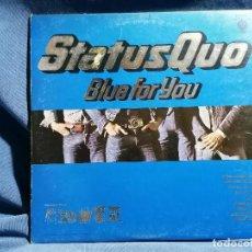 Discos de vinilo: STATUS QUO 'BLUE FOR YOU' EDICION INGLESA 1976. Lote 237408085