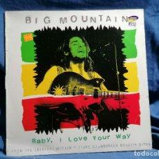 Discos de vinilo: VINILO LP PETER FRAMPTON 'BIG MOUNTAIN' EDICION ESPANA 1995 BANDA SONORA. Lote 237408805