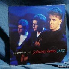 Discos de vinilo: VINILO LP JONNY HATES JAZZ EDICION ESPANA 1987. Lote 237410550