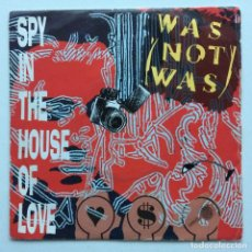 Discos de vinilo: WAS (NOT WAS) – SPY IN THE HOUSE OF LOVE / DAD, I'M IN JAIL UK,1987. Lote 237412960