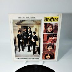 Discos de vinilo: THE BEATLES – IT'S ALL TOO MUCH UNRELEASED VOLUME 1. Lote 237438845