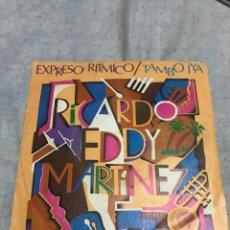 Discos de vinilo: RICARDO EDDY MARTÍNEZ. Lote 237461700