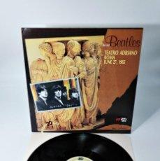 Discos de vinilo: THE BEATLES–THE LIVE BEATLES - TEATRO ADRIANO ROMA JUNE 27,1965 / ABSOLUT FANTASTIC BEATLES RELEASE. Lote 237466765