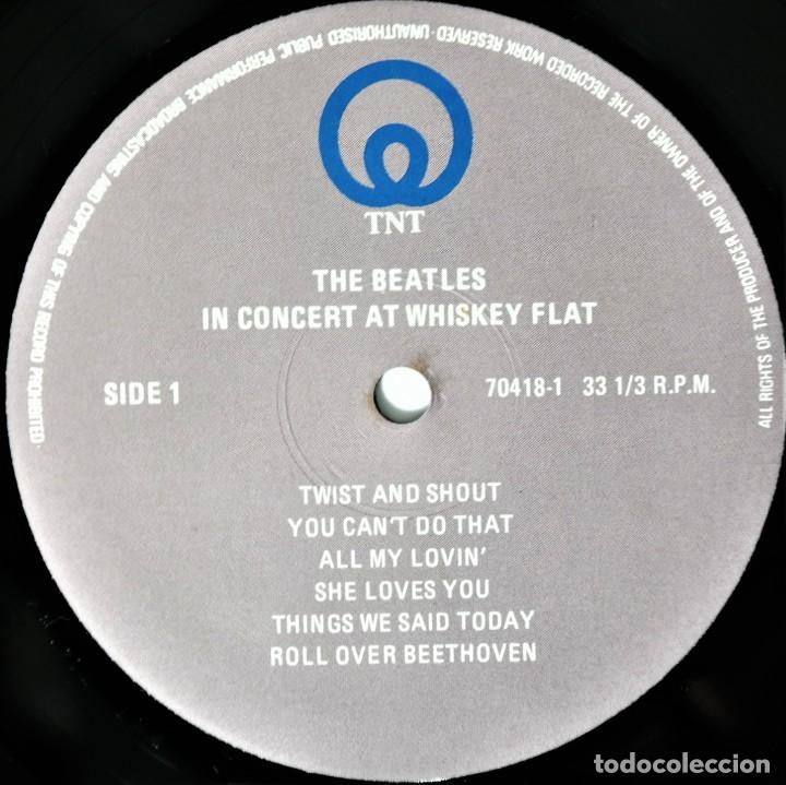 Discos de vinilo: The Beatles – Live Concert At Wiskey Flats / Never find again with This Cover / A Treasure - Foto 3 - 237469640
