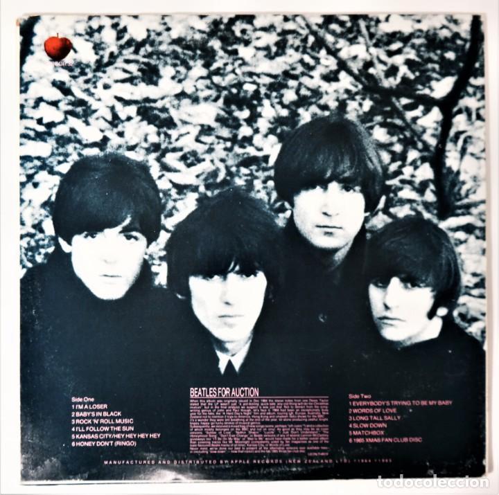 Discos de vinilo: The Beatles – Beatles For Auction / Very Special - Foto 8 - 237470465