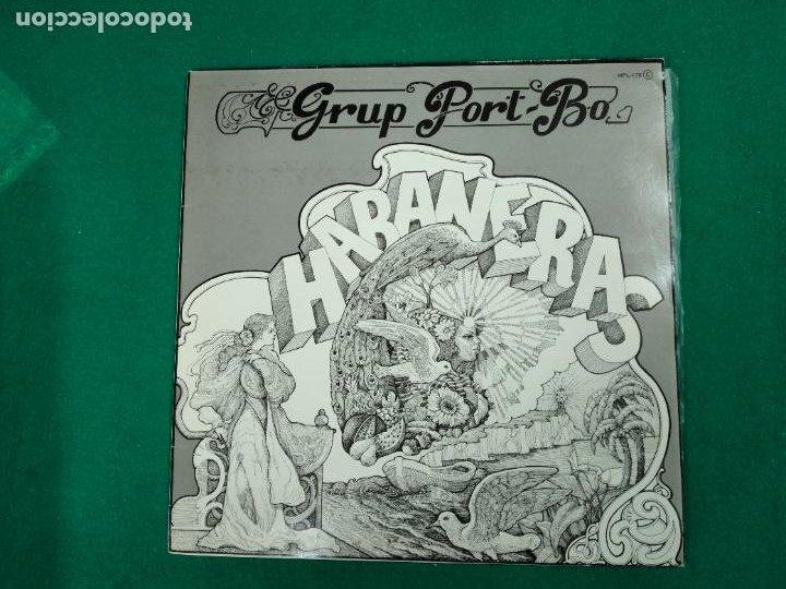 GRUP PORT-BO HABANERAS. LP ZAFIRO. (Música - Discos - LP Vinilo - Étnicas y Músicas del Mundo)