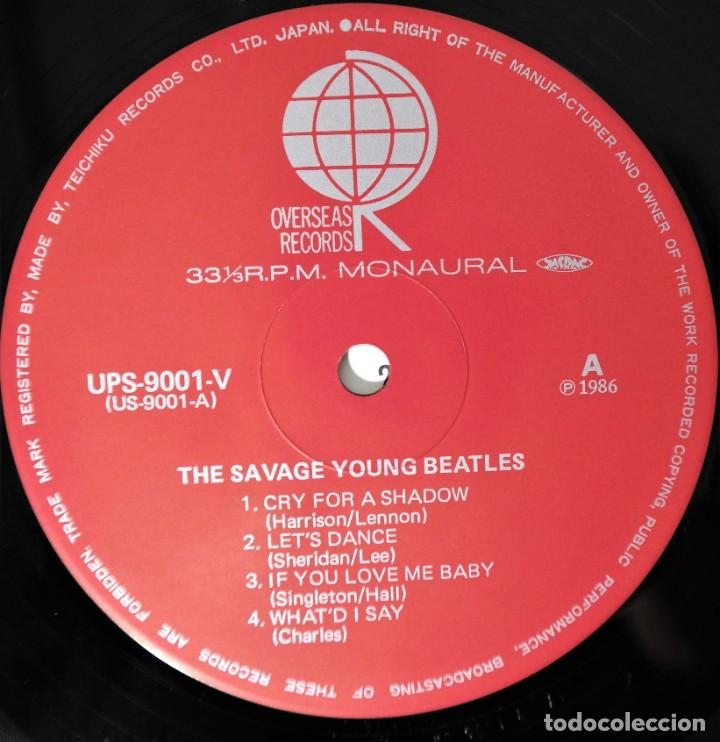 Discos de vinilo: The Beatles–The Savage Young Beatles/ Collectors Treasure From The Beatles With Special Hologram - Foto 5 - 237472675